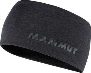 Mammut Merino Headband Black Mélange