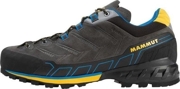 Mammut Kento Low GTX Mens Shoes Dark Titanium/Freesia UK 9,5