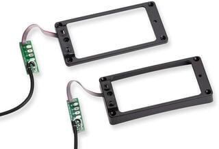 Seymour Duncan STS-2S Triple Shot Switching Mounting Ring Set Arched-Black