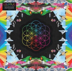 Coldplay A Head Full Of Dreams (Vinyl LP)