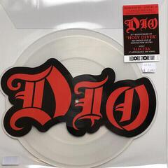 Dio Rsd - Holy Diver Live B/W Electra (Die Cut Logo)