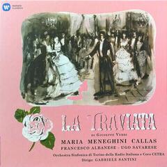 Callas/Albanese/Santini/Turin Verdi: La Traviata (1953 - Studio Recording) (3 LP)
