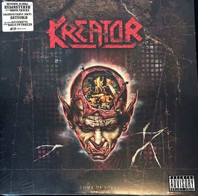 Kreator Coma Of Souls (3 LP 2018 Remaster)