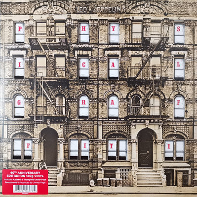 Led Zeppelin Physical Graffiti Remastered Original Vinyl (2Lp)