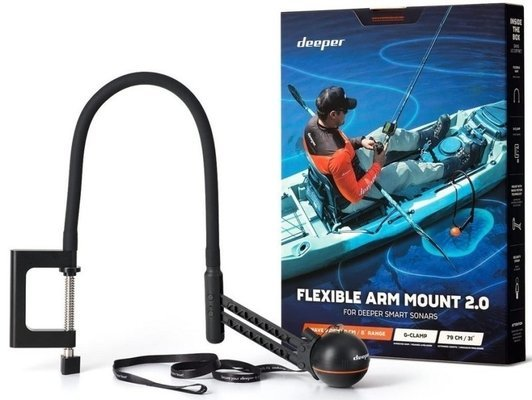 Deeper Flexible Arm Mount 2.0 for Boat or Kayak