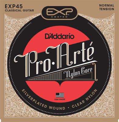 D'Addario EXP-45 Classical Nylon Set Normal