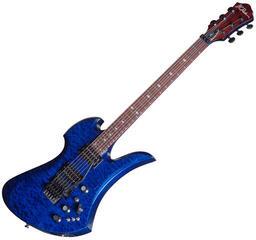 BC RICH MK7 Mockingbird Transparent Cobalt Blue