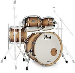 Pearl MCT924XEP Masters Complete Shell Set Satin Natural Burst