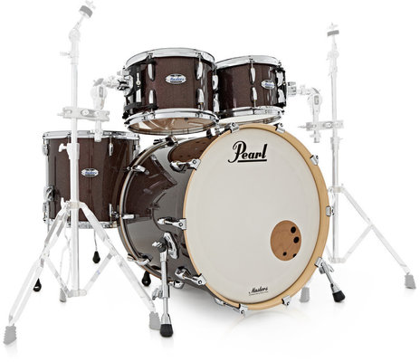 Pearl MCT924XEFP Masters Complete Shell Set Burnished Bronze Sparkle