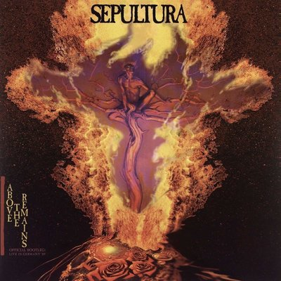 Sepultura Above The Remains Live 89 (Red Vinyl)