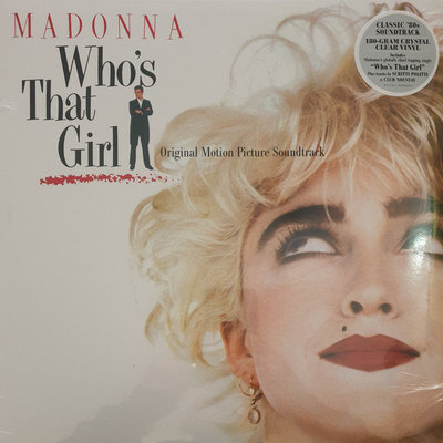 Madonna Who'S That Girl Ost (Clear Vinyl Album)