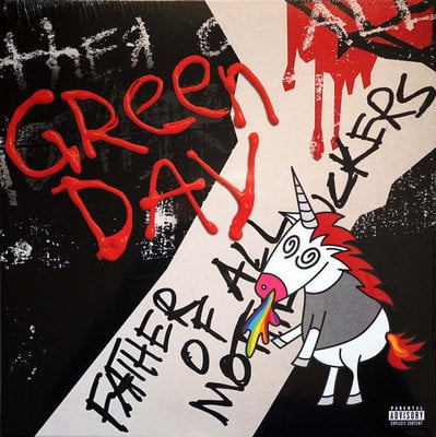 Green Day Father Of All… (Black Vinyl Album)