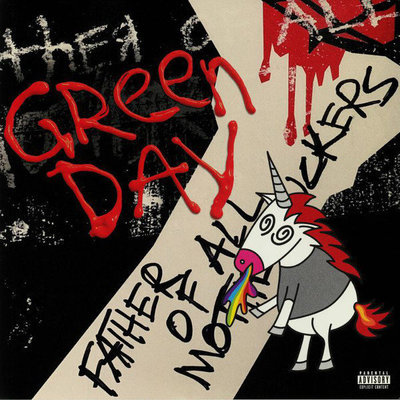 Green Day Father Of All… (Red Vinyl Album) (Indie Exclusive)