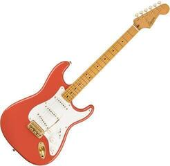 Fender Squier FSR Classic Vibe '50s Stratocaster MN Fiesta Red with Gold Hardware