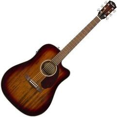 Fender CD-140SCE Dreadnought All-Mahogany Shaded Edge Burst