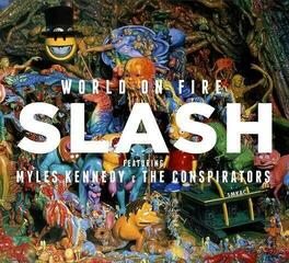 Slash World On Fire  (Red Vinyl) - Limited