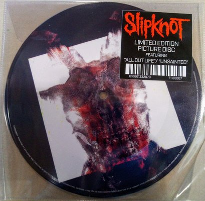 Slipknot RSD - All Out Life / Unsainted (Picture Disc)