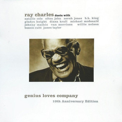 Ray Charles Genius Loves Company - 10Th Anniversary Editions