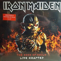 Iron Maiden The Book Of Souls: Live Chapter (3 LP)