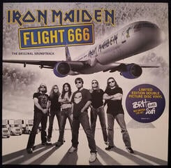 Iron Maiden Flight 666 (Lp)