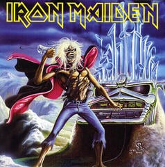 Iron Maiden Run To The Hills - Live (7') - Limited
