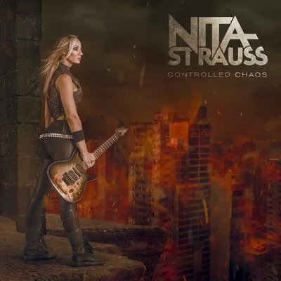 Nita Strauss Controlled Chaos (Transparent Red)