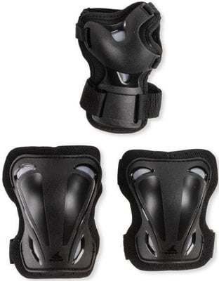 Rollerblade Skate Gear 3 Pack Black S