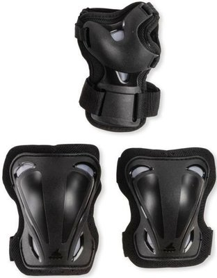Rollerblade Skate Gear 3 Pack Black M