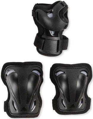 Rollerblade Skate Gear Junior 3 Pack Black 3XS