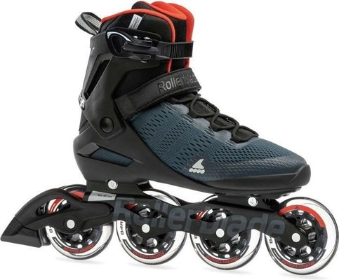 Rollerblade Spark 90 Orion Blue/Spicy Orange 300
