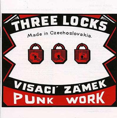 Visací Zámek Three Locks