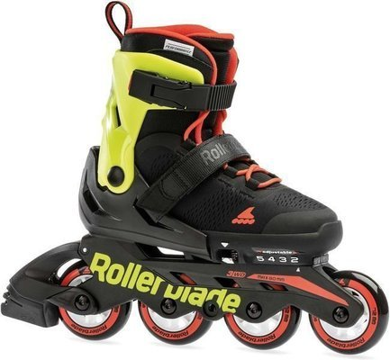 Rollerblade Arrow Black/Spicy Orange 175
