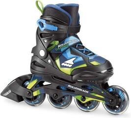 Rollerblade Thunder Black/Blue 185