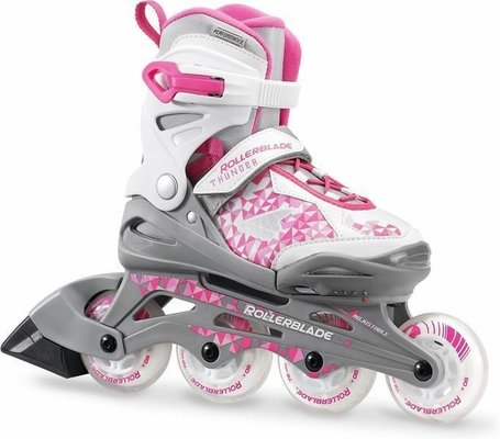 Rollerblade Thunder G Silver/Pink 185
