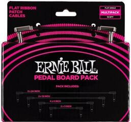 Ernie Ball 6224 Flat Ribbon Patch Cables Pedalboard Multi Pack