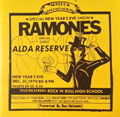 Ramones Rsd - Live At The Palladium, New York, Ny (12/31/79)