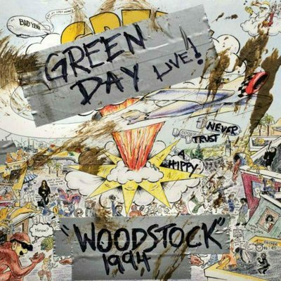 Green Day Rsd - Woodstock 1994