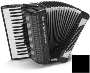 Weltmeister Topas 37/96/III/7/3 Black Piano accordion