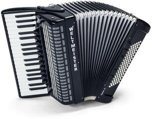 Weltmeister Topas 37/96/IV/11/5 Black Piano accordion