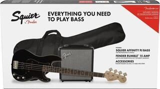 Fender Squier Affinity Series Precision Bass PJ Pack IL Noir