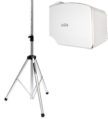 Isovox Mobile Vocal Booth V2 White SET