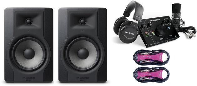 M-Audio BX8 D3 Studio SET