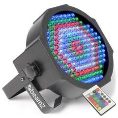 BeamZ LED FlatPAR Reflector with IR 154x 10 mm RGBW DMX