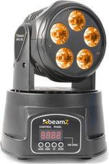 BeamZ Moving Head 5x18W RGBAW-UV LED DMX