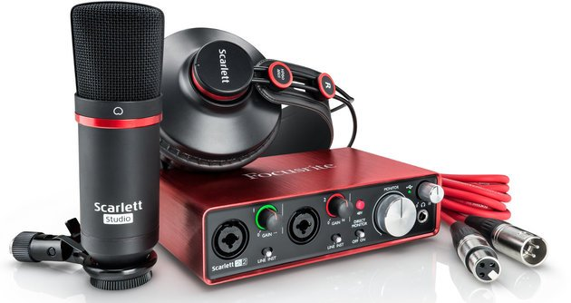 Focusrite Scarlett 2i2 Studio 2nd Generation