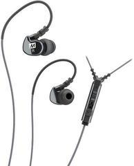 MEE audio M6P Memory Wire In-Ear Headphones With Mic Black