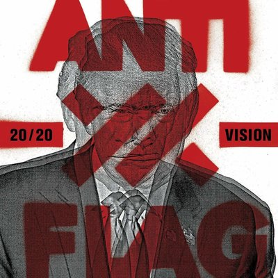 Anti-Flag 20/20 Vision (Red Coloured Vinyl LP)