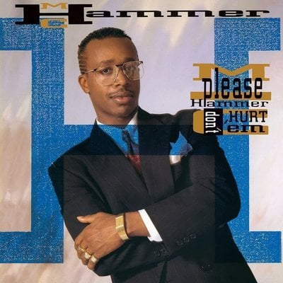 MC Hammer Please Hammer Don't Hurt (Vinyl LP)