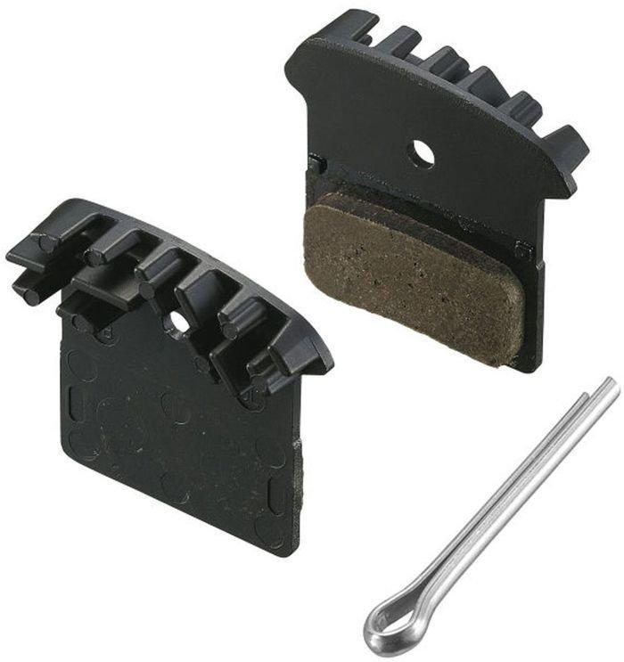 Shimano J04C Metal Disk Brake Pads with Cooler