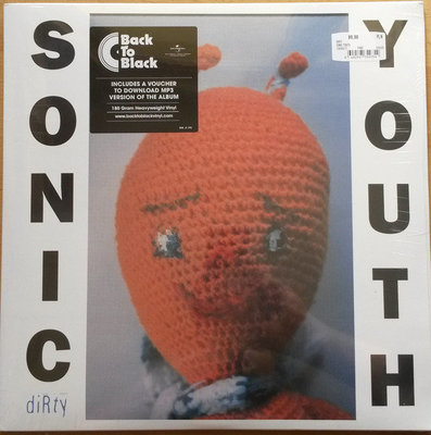 Sonic Youth Dirty (2 LP)